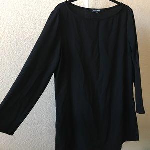 American Apparel black tunic